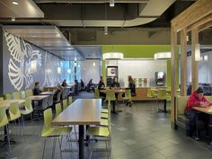 A new dining hall designed to attract the best and brightest Ed Design, Hall Design, University Interior Design, Cafeteria Design, Catering Design, Corporate Interiors, Hospitality Design, Ceiling Design, Interior Architecture