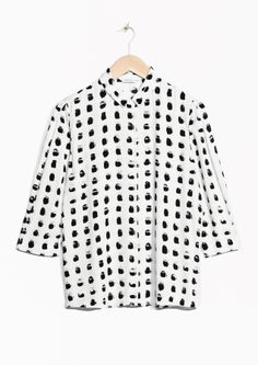 & Other Stories | Spackle Print Shirt