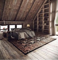 9 Passionate Tips AND Tricks: Natural Home Decor Ideas Feng Shui natural home decor ideas living rooms.Natural Home Decor Boho Chic Living Spaces all natural home decor window.Natural Home Decor Living Room Interior Design. Attic Bedrooms, Bedroom Loft, Home Bedroom, Master Bedroom, Bedroom Ideas, Design Bedroom, Bedroom Rustic, Rustic Industrial Bedroom, Bedroom Shelves