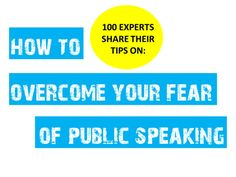 how-to-overcome-your-fear-of-public-speaking-stage-fright-to-stage-presence by Akash Karia via Slideshare