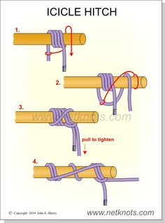 Icicle Hitch Knot
