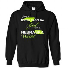 (NCJustXanhChuoi001) Just A North Carolina Girl In A Ne - #tshirt quotes #sweatshirt upcycle. BUY-TODAY => https://www.sunfrog.com/Valentines/-28NCJustXanhChuoi001-29-Just-A-North-Carolina-Girl-In-A-Nebraska-World-Black-Hoodie.html?68278