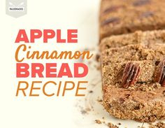 Grab your spatula and turn on the oven, this nutty, two-layer Paleo Apple Cinnamon Bread brings home the warm flavors of fall. Apple Recipes, Bread Recipes, Vegan Recipes, Cooking Recipes, Paleo Bread, Pizza Recipes, Holiday Recipes, Apple Cinnamon Bread, Cinnamon Apples