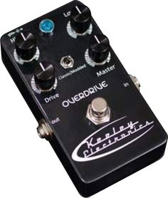 Keeley Luna Overdrive Guitar Effects Pedal  $229