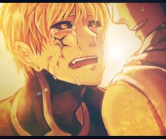 Onepunch-Man, Genos (M: Aww don't crys..)