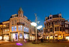Arnhem centrum schemering