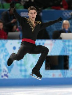 DAY 8:  Viktor Romanenkov of Estonia competes during the Figure Skating Men's Free Skate http://sports.yahoo.com/olympics