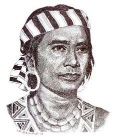 Lapu Lapu, the national hero    There was great resistance of the local people. In the battle that took place that day, the locals with their leader Lapu Lapu succeeded in forcing the Spaniards to retreat to their ships, after their leader, Magellan, was killed by the spears of the Lapu Lapu warriors. Lapu Lapu became the first Filipino hero.