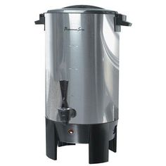 Continental Electric Stainless Steel Single 30-Cup Coffee Wall Urn by CE North America LLC. $24.99. Durable and stylish. 30 cup capacity. Perfect for social gatherings and crowds. Stainless steel. Single wall. Perfect for social gatherings and crowds, this coffee urn from continental electric is designed to take the fuss out of coffee serving and put the emphasis back where it belongs in entertaining.