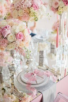 Розовые цветы в оформлении свадьбы — лучший организатор праздников в Киеве Make my day