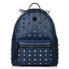 Stark Backpack L Front Studs Navy
