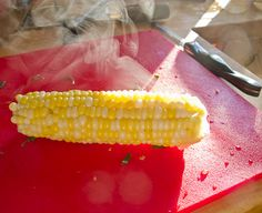 A different take on boiling corn + How to Make Corn Stock