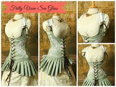 *Corsets will fit a waist measurement of up to TWO INCHES larger than stated measurement. We measure our corsets by pulling them taut, like they would be on a body, and measuring across the smallest p