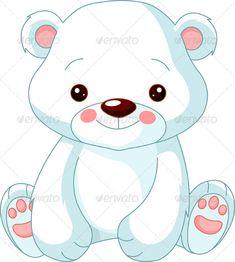 Fun zoo. Polar Bear - Animals Characters