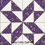 Scrappy Fabric Star Puzzle Easy Pre-Cut Quilt Blocks Top Kit