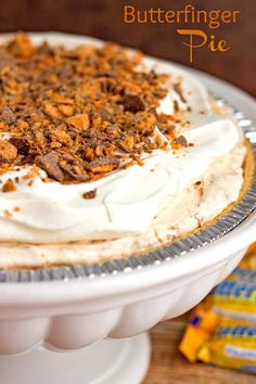 This oh-so-simple pie is a chocolate peanut butter lovers dream. A creamy no-bake peanut butter filling chocked full of crushed Butterfinger candy bars. Don't worry about cutting it just put it in he middle of the table and pass out spoons. This pie is my take on a classic Pillsbury recipe. Pillsbury has been inspiring …