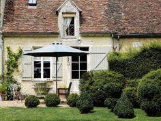 Le jardin de Country Garden, chambre d'hôte au charme british, à 10 kilomètres de Rémalard.