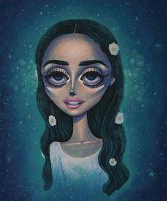 Lana Del Rey 'Love' artwork by Peter Curtis Lana Del Rey Love, Elizabeth Woolridge Grant, Miss Girl, Beautiful Drawings, Illustrations, Girl Face, Big Eyes, Kawaii Anime, Art Inspo