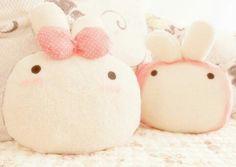 Kawaii plush bunnies ♡