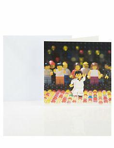 LEGO® Night Fever Blank Greetings Card