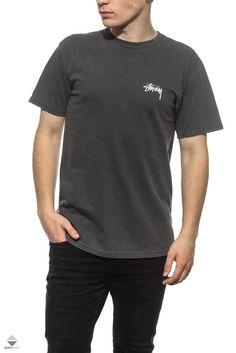Koszulka T-shirt Stussy 8 Ball Pig Black Crooks And Castles, Stussy, Nike Sb, Streetwear, Vans, Denim, Clothing, Model, Mens Tops