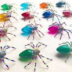 Delightful Story Behind The Spider Christmas Ornament Tradition The Story Behind Spider Christmas Ornaments - SimplemostThe Story Behind Spider Christmas Ornaments - Simplemost Christmas Projects, Halloween Crafts, Holiday Crafts, Halloween Decorations, Christmas Decorations, Christmas Spider, Christmas Holidays, Christmas Bulbs, Christmas Markets