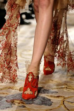 Fall/ Winter 2012-2013 Shoe Trends - Textile Shoes