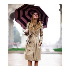 How do I look good in the rain? WhoWhatWear ❤ liked on Polyvore featuring backgrounds