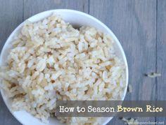 15 ways to season brown rice