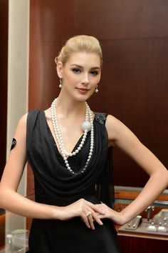 #Mikimoto, #120thAnniversary, #GrandOpening, #Necklaces, #Luxury, #Pearls, #Jewellery, http://www.style-tips.com/en/news/archives/55180