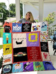 Friends Film I Will Be There For You Moo Point Friends Joey Rachel Monica Phoebe Ross Chandler Margel Smelly Cat Joey Doen'T Share Food Quilt Tv: Friends, Serie Friends, Friends Moments, Gifts For Friends, Friends Scenes, Friends Episodes, Friends Cake, Mom Gifts, Cotton Quilts