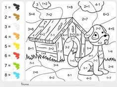 additions color by numbers addition coloring pages best of free printable numberorksheets thanksgiving math number worksheets colour Addition And Subtraction Worksheets, Number Worksheets, Preschool Worksheets, Math Activities, Coloring Worksheets, Color By Numbers, Math Numbers, Math Sheets, Thanksgiving Math