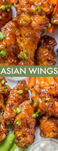 Hot Wing Sauces, Chicken Wing Sauces, Chicken Wing Flavors, Best Chicken Wing Recipe, Easy Chicken Recipes, Asian Chicken Wings, Sauce For Chicken Wings, Chinese Crispy Chicken, Asian Wings