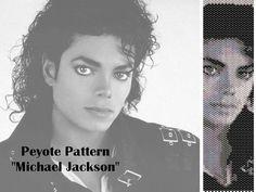 Peyote pattern  for bracelet cuff  Michael Jackson di LePCCdiMeri, €2.10