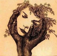 **I don't own any of these images - credit is always given when due unless it is unknown to me. If I post your images without your permission, please tell me. Illusion Kunst, Illusion Art, Art Amour, Tree Art, Tree Of Life, Black Art, Art Inspo, Amazing Art, Awesome