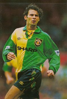Ryan Giggs of Man Utd in 1994.