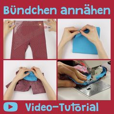 Quick Tip – Bündchen annähen Sewing cuffs is one of the sewing basics. Once you know how it's done, you can also implement a lot of great sewing projects as a sewing beginner! And cuff sewing is really not that hard. Sewing Basics, Sewing Hacks, Free Knitting, Knitting Patterns, Knitting Projects, Sewing Projects, Costura Diy, Knitting For Beginners, Knitted Blankets