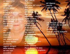 NERO SU BIANCO ...... appunti di viaggio di Maria Antonietta Sechi: Poesia...la mia vita