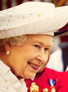 The Queen during her diamond jubilee