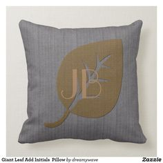 Rest your head on one of Zazzle's Abstract decorative & custom throw pillows. Add comfort and transform any couch, bed or chair into the perfect space! Colorful Pillows, Decorative Throw Pillows, Initial Pillow, Grey Pillows, Initials, Gray Color, Abstract, Grey Throw Pillows, Summary
