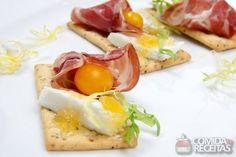 Receita de Canapé de damasco com queijo em receitas de salgados, veja essa e outras receitas aqui!