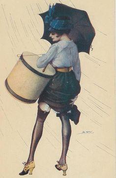 Не раскрывайте зонтик в доме...