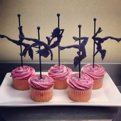 Cupcakes in Las Vegas have strippers on them