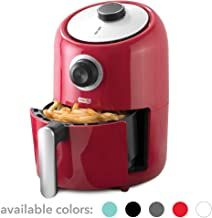 Dash (DCAF150GBRD02) Compact Air Fryer Oven Cooker with Temperature Control, Non Stick Fry Basket, Recipe Guide + Auto Shut off Feature, 2qt, Red air fryer#kitchen electronics#non stick fryer Air Fryer Recipes Pork, Pork Chop Recipes, Small Air Fryer, Reheat Pizza, Cooking Pork Chops, Air Fryer Pork Chops, Kitchen Electronics, Oven Cooker, How To Cook Pork