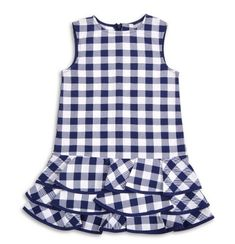 Take A Look At This Pink Gingham Seersuc - Diy Crafts - Qoster Toddler Girl Dresses, Little Girl Dresses, Girls Dresses, Kids Frocks, Frocks For Girls, Toddler Fashion, Kids Fashion, Baby Frocks Designs, Frock Design