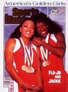 Florence Griffith Joyner and Jackie Joyner-Kersee