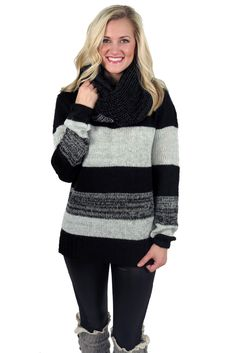 snow angel striped sweater #black #charcoal #chunky #comfy #fall #glitter #grey #knits #large #layers #long #medium #new #popular #retro #shirt #small #snow #sparkle #stripes #sweater #thick #top #warm #winter
