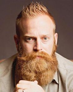 Take a look around and I think you'll agree with me that there seems to be more and more men who are shirking their responsibilities as men. Beard And Mustache Styles, Beard No Mustache, Hair And Beard Styles, Ginger Men, Ginger Beard, Hairy Men, Bearded Men, Walrus Mustache, Red Beard