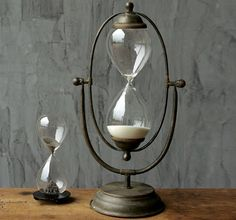 30 Minute Hour Glass   Half Hour Timer   Sand Clock $35