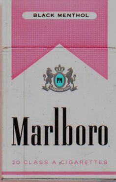 I hate cigarettes, but I had to pin this because it is pnk